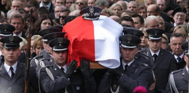 Pogrzeb generała Andrzeja Błasika