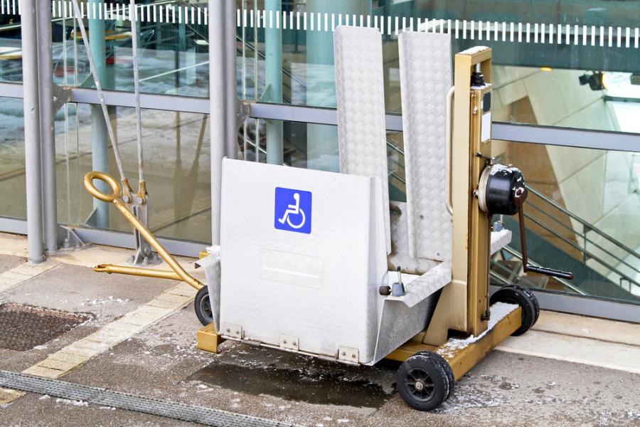 Platforma do podnoszenia niepełnosprawnych