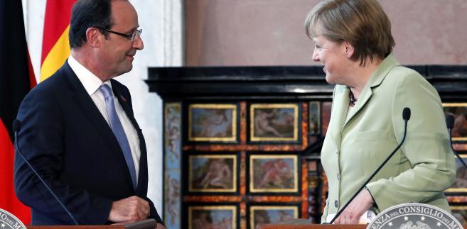 Merkel i Hollande mówią jednym głosem: szanse na powodzenie szczytu są nikłe.
