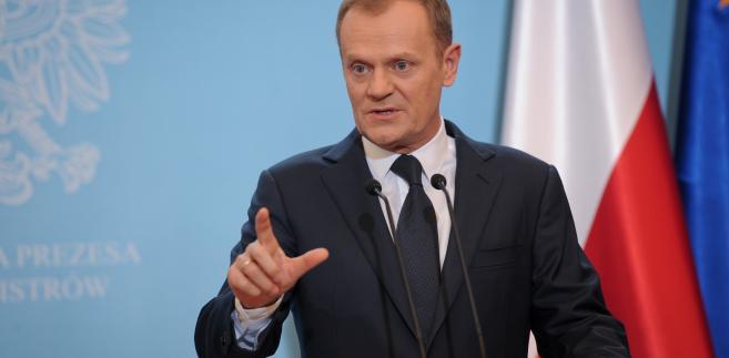 Tuż przed posiedzeniem rządu Donald Tusk rozmawiał telefonicznie z szefem Rady Europejskiej Hermanem van Rompuyem.