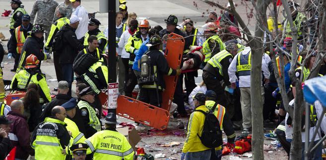 Eksplozja w Bostonie