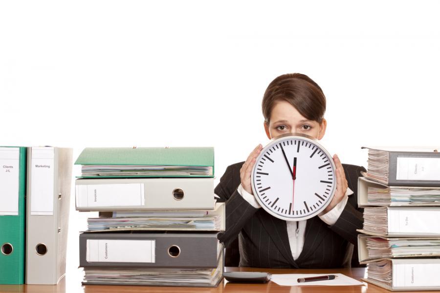 praca, biuro, czas pracy