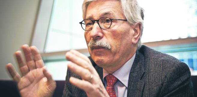 Thilo Sarrazin, jeden z najpoczytniejszych autorów i jedna z najbardziej kontrowersyjnych postaci niemieckiego życia publicznego.