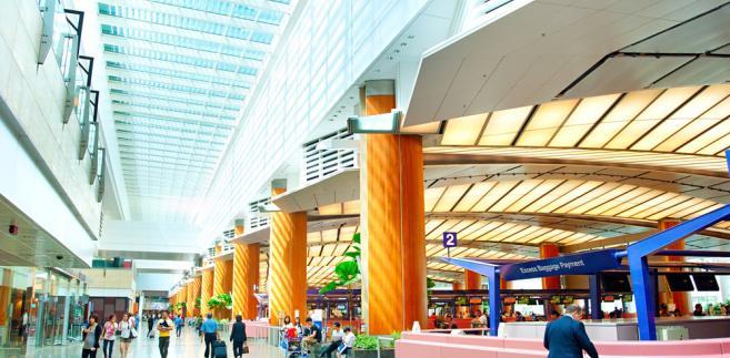 lotnisko, Singapur