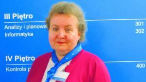 Wanda Czopik starszy komisarz skarbowy w Urzędzie Skarbowym w Wieliczce