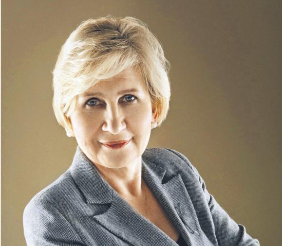 Maria Ślązak, prezydent Rady Adwokatur i Stowarzyszeń Prawniczych Europy CCBE