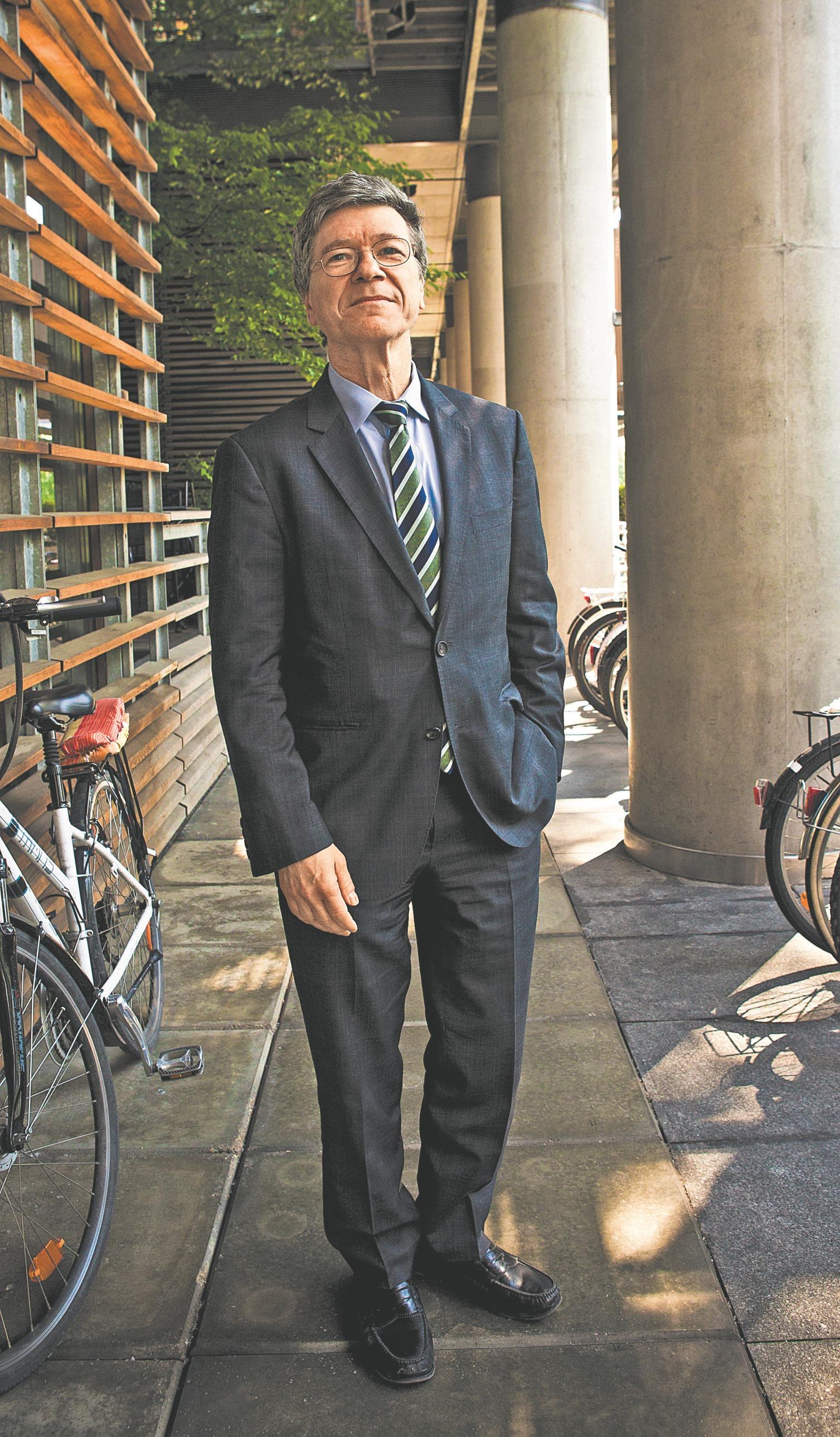 Jeffrey Sachs fot. Wojciech Górski