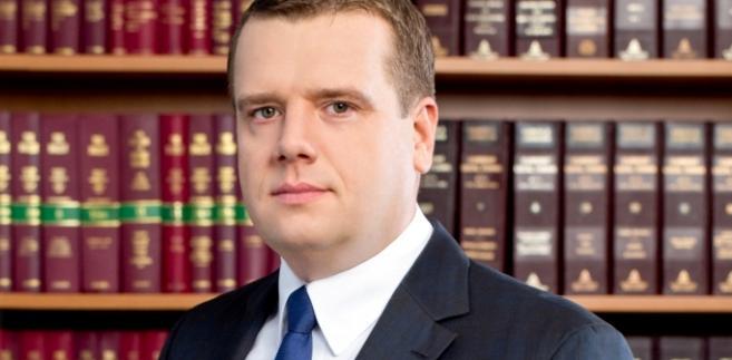 Włodzimierz Chróścik dziekan rady Okręgowej Izby Radców Prawnych w Warszawie