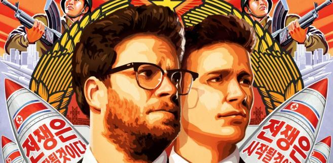 "Plakat ""The Interview"" - Seth Rogen i James Franco"