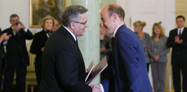Prezydent powołał posła PO Borysa Budkę na ministra sprawiedliwości