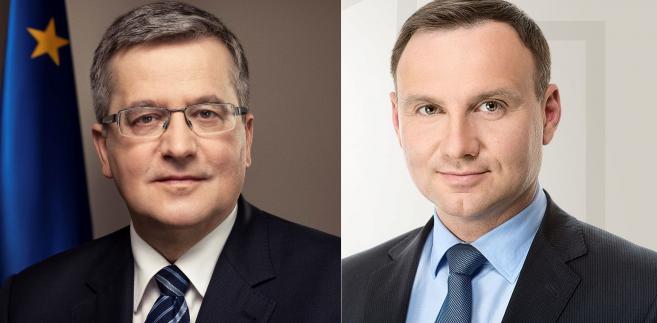 Komorowski vs. Duda
