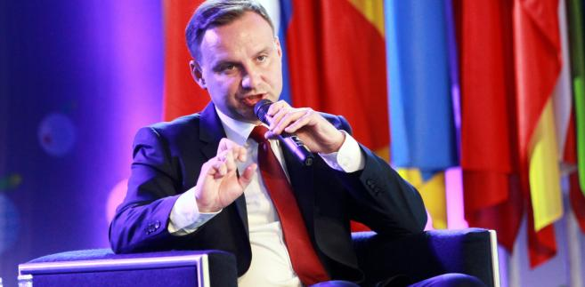Krynica-Zdrój, Prezydent RP Andrzej Duda,  PAP/Grzegorz Momot
