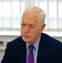 dr Julian Bystrzanowski wiceprzewodniczący Konferencji Rektorów Zawodowych Szkół Polskich