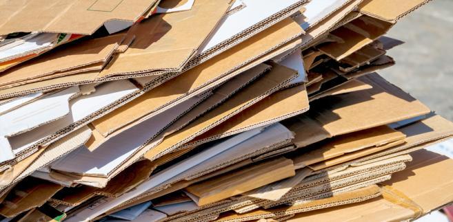 karton, śmieci, kartony, odpady
