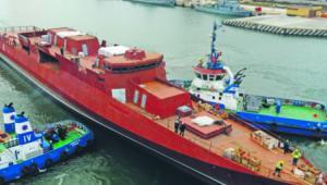 Zamiast nowoczesnej, wielozadaniowej korwety Gawron po 15 latach budowy zwodowano rok temu patrolowiec Ślązak