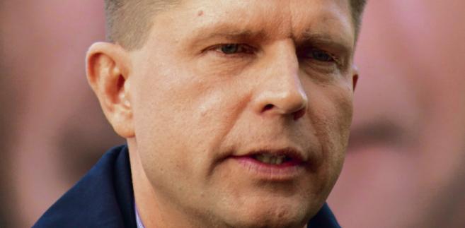Ryszard Petru ekonomista, założyciel i szef partii Nowoczesna, poseł