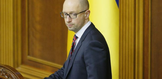 Ukraina: koniec rządzącej koalicji