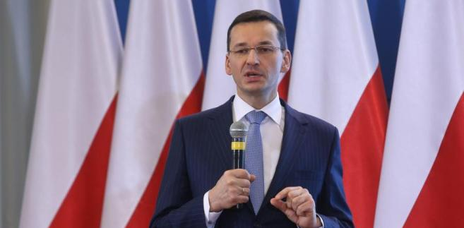 Wicepremier, minister rozwoju Mateusz Morawiecki