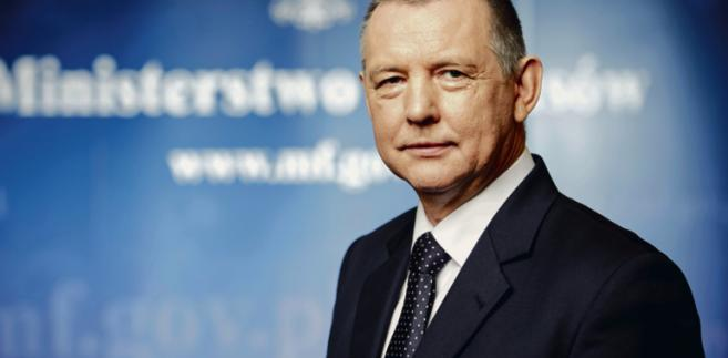 Marian Banaś, wiceminister finansów, szef Służby Celnej i Administracji Podatkowej