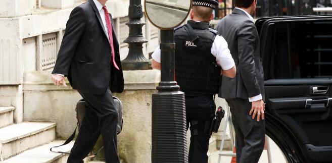 Brytyjski minister sprawiedliwości Michael Gove