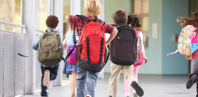 Według zaleceń Głównego Inspektoratu Sanitarnego waga szkolnego plecaka nie powinna przekraczać 10-15 proc. masy ciała dziecka.