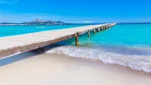 10. Playa de Muro, Hiszpania