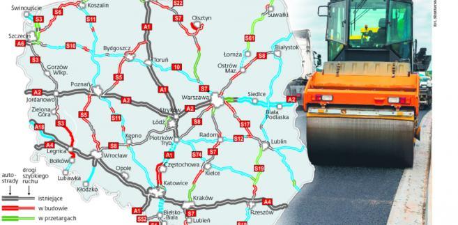 Napięty plan budowy dróg