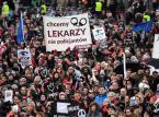 Międzynarodowy Strajk Kobiet w Dzień Kobiet, 8 bm. w Warszawie.   PAP/Bartłomiej Zborowski