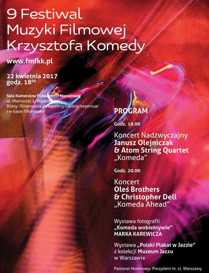 9. Festiwal Muzyki Filmowej Krzysztofa Komedy