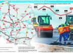Polskie drogi dwóch prędkości. Będą zmiany w rządowym programie [MAPA]