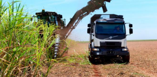 Automatycznie kierowany samochód ciężarowy Volvo