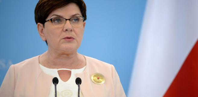 """Zdaniem Beaty Szydło, opozycja """"instrumentalnie wykorzystuje śmierć Igora Stachowiaka, domagając się dymisji ministra Błaszczaka, chcąc w ten sposób pozbyć się najlepszego szefa MSWiA od lat""""."""