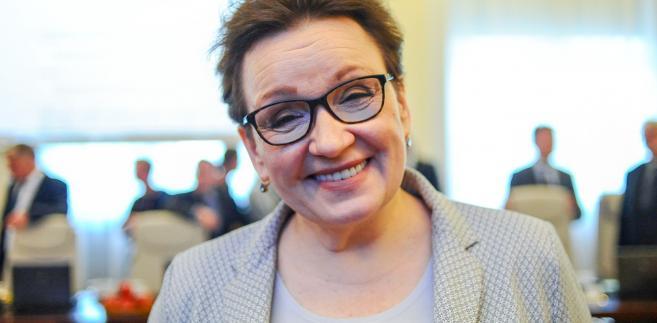 Reformowanie edukacji to zdaniem minister sztuka osiągania kompromisu