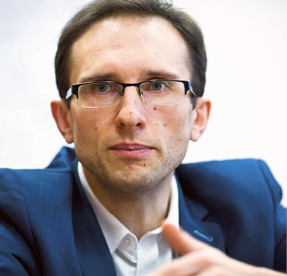 Przemysław Krawczyk, dyrektor departamentu kontroli i analiz ekonomicznych w Ministerstwie Finansów