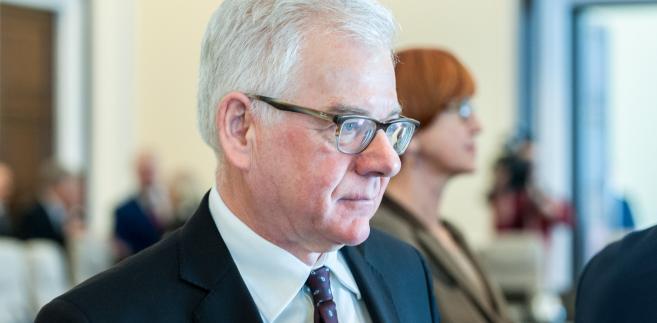 Obecnie widzimy, że pomysł piętnowania Polski przez inne państwa nie znajduje wielkiego poparcia - zapewnia polityk