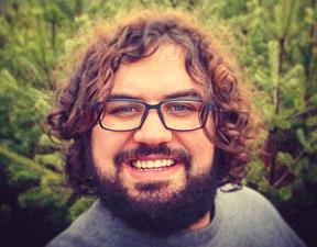 dr Marcin Polkowski geofizyk z Wydziału Fizyki UW, programista w IMGW