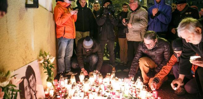 Policja uważa, że morderstwo mogło mieć związek z pracą dziennikarza