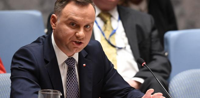 """""""Być może to posiedzenie Rady Bezpieczeństwa, któremu przewodniczył prezydent Duda, będzie początkiem takiej refleksji, chociaż ja jestem dosyć sceptyczny"""" - ocenił."""
