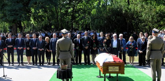 Pogrzeb Ireny Szewińskiej