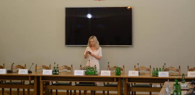 Sejmowa Komisja śledcza ds. Amber Gold: przewodnicząca Małgorzata Wassermann.