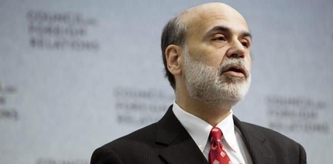 Ben Bernanke, szef Rezerwy Federalnej USA, której decyzja spowodowała ostry skok cen surowców.