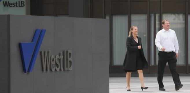 Głowna kwatera regionalnego banku WestLB w Duesseldorfie.