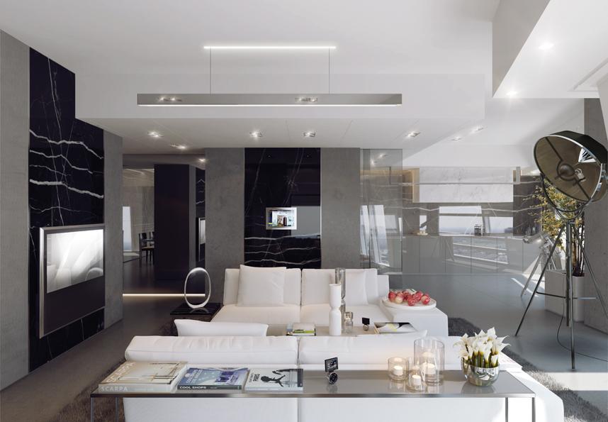 Apartamenty Złota 44 - style wykończeń