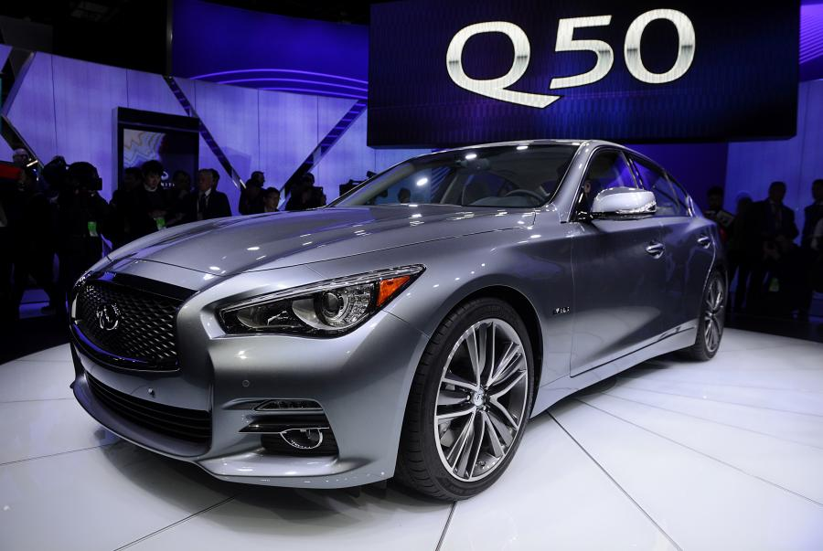 North American International Auto Show 2013: Infiniti Q50 sedan