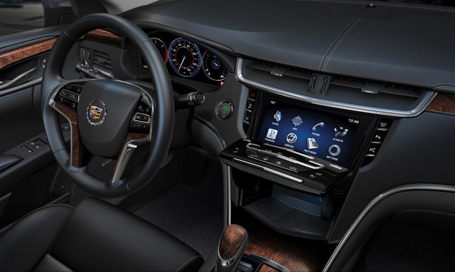 Wnętrze Cadillaca XTS
