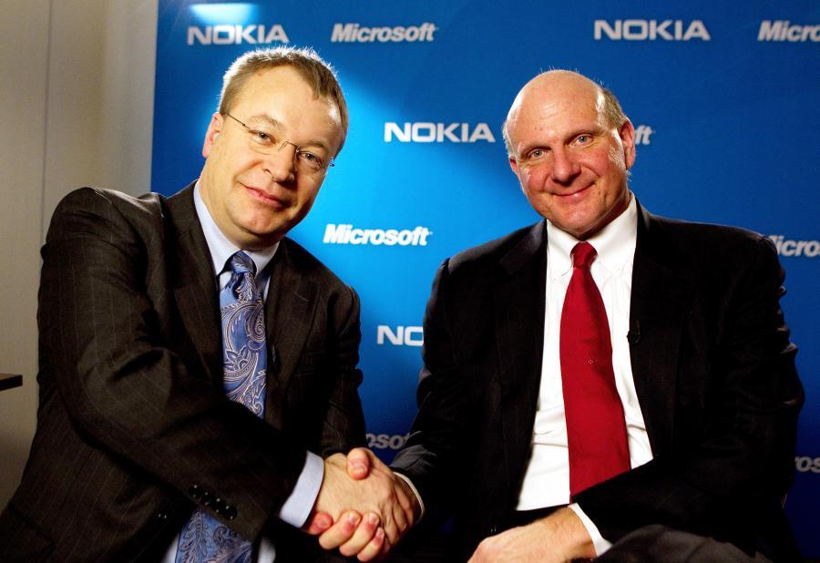 Steve Ballmer & Stephen Elop