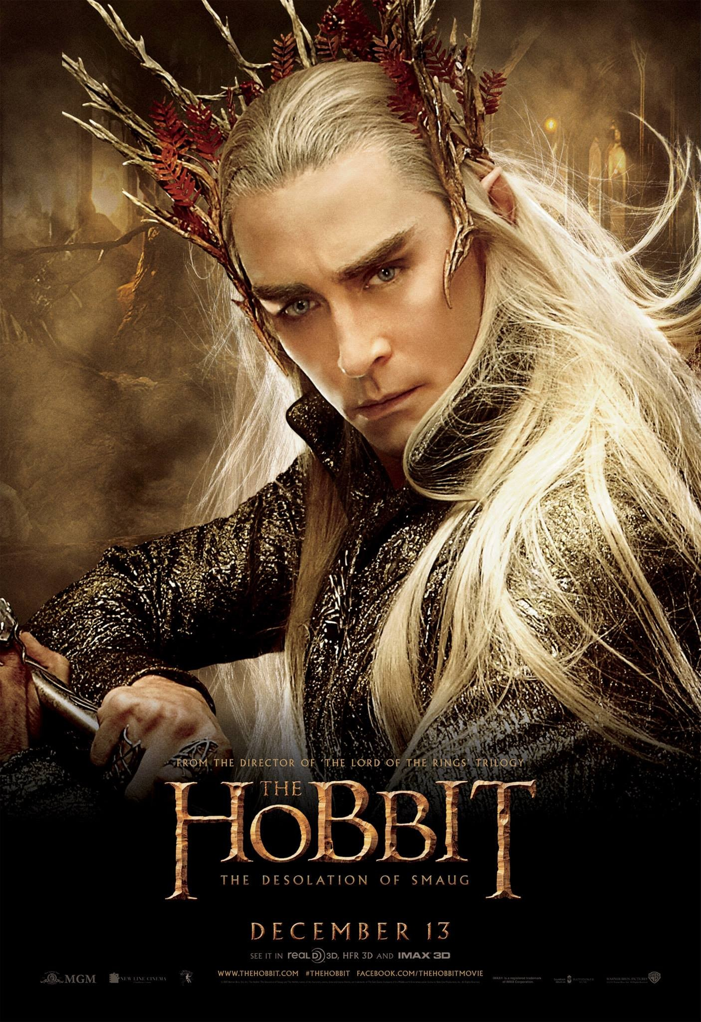 """""""Hobbit: Pustkowie Smauga"""" Thranduil"""