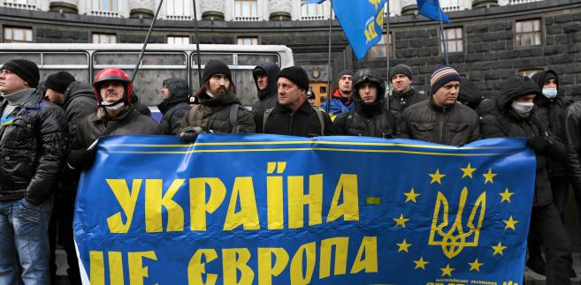 Demonstracje w Kijowie