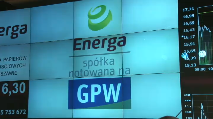 Energa, źródło GPW Media