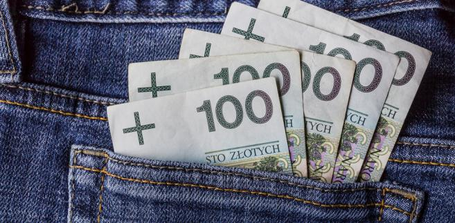 kredyt gotówkowy-pieniądze-złoty
